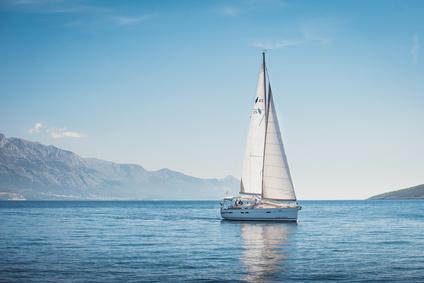 entspannt segeln meer