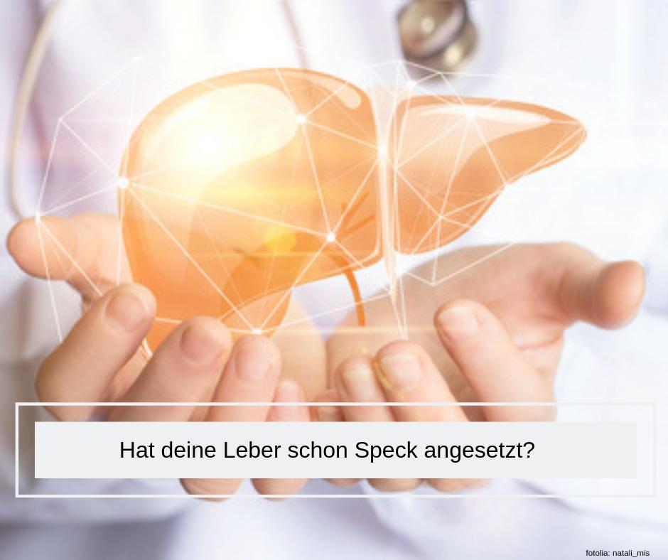 Fettleber Gesundheit Leber Leberfasten Speck angesetzt